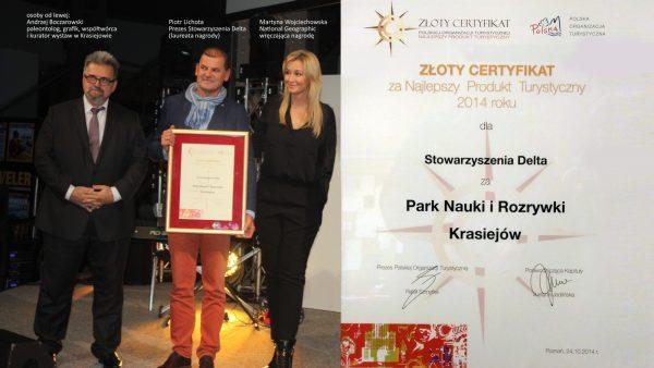 Złoty Certyfikat Polskiej Organizacji Turystycznej